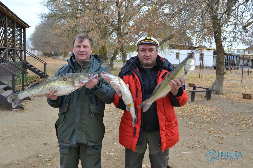 Рыбалка в ноябре на ахтубе